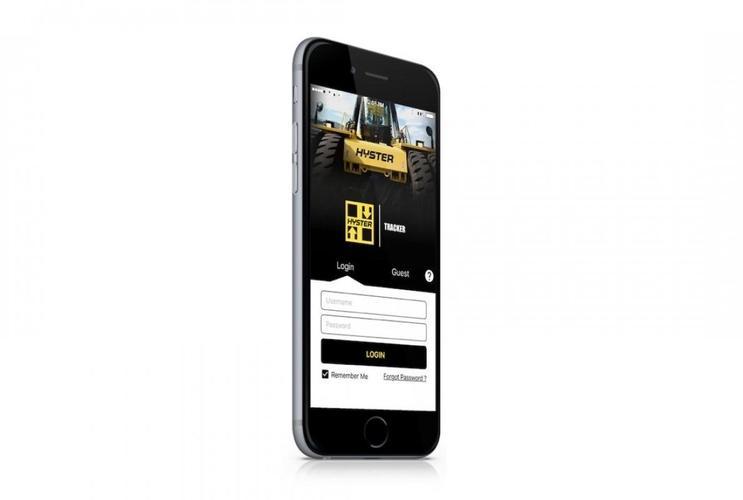 Hyster Tracker mobile app